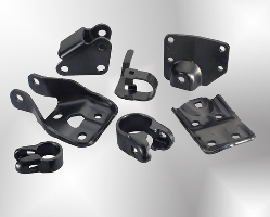Aluminum and Steel Brackets for HVAC cans
